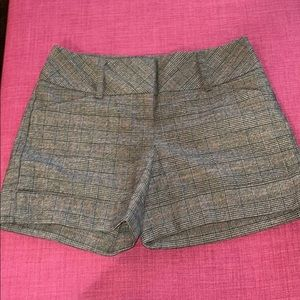 Express Plaid Shorts